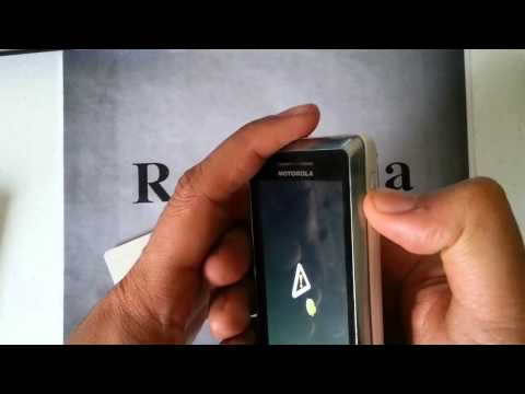 Motorola Droid 2 Verizon: HARD RESET PASSWORD REMOVAL FACTORY RESTORE how-to