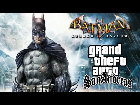 [10 Mb]Batman Mod|How to install Batman Mod On Gta San Andreas On android 2017