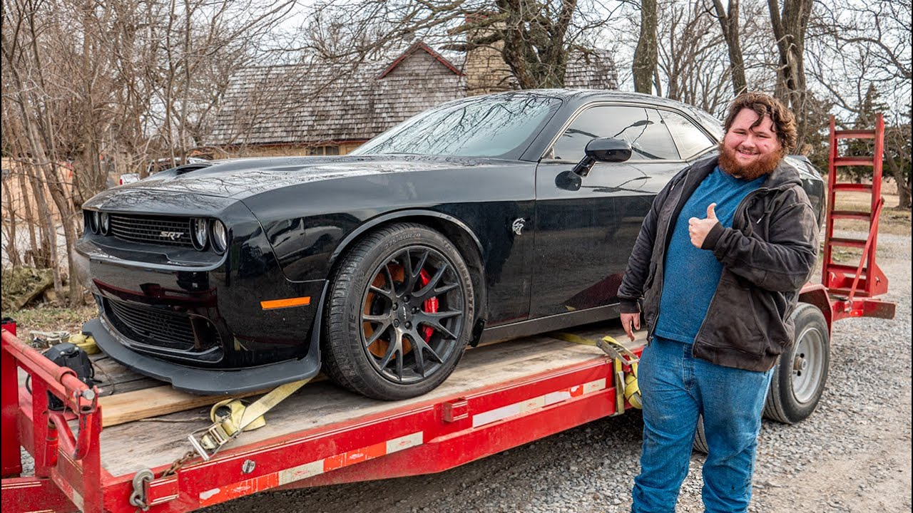 I Bought a Broken Hellcat for a 4x4 Off-Road Build