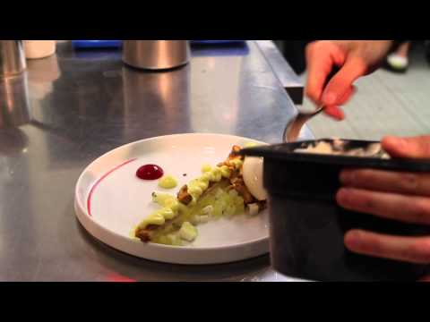 The art of plating with pastry chef Farzam Fallah