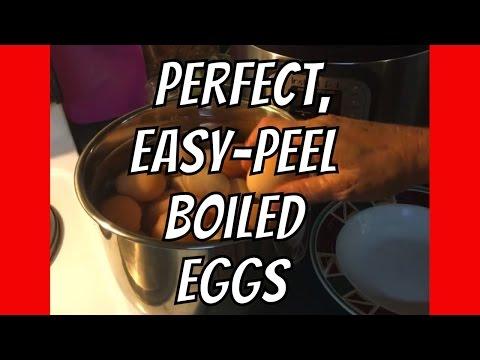 Perfect Hard Boiled Eggs | Easy Peel (Even Fresh Eggs!) | InstantPot
