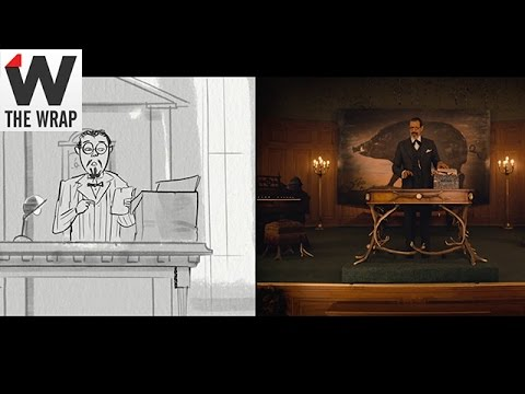 'The Grand Budapest Hotel' Storyboard Animatics