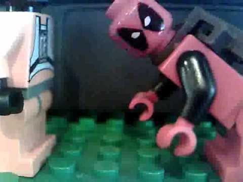 Lego Deadpool Cut scene