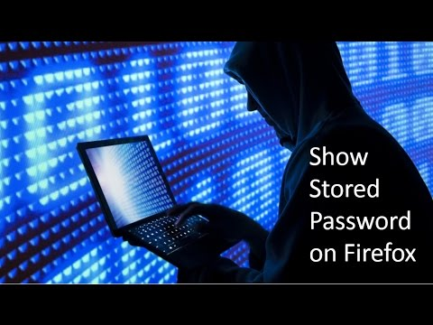 How to see Saved Password on Firefox
