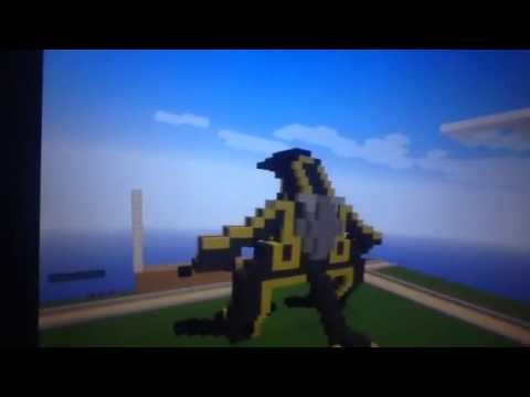 Minecraft life size knife head from pacifc rim