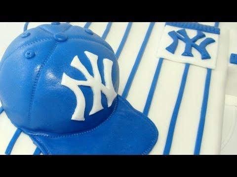Baseball Cap Cake Tutorial (Dort - basebalová čepice)