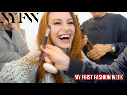 VLOG- My First New York Fashion Week | Madelaine Petsch