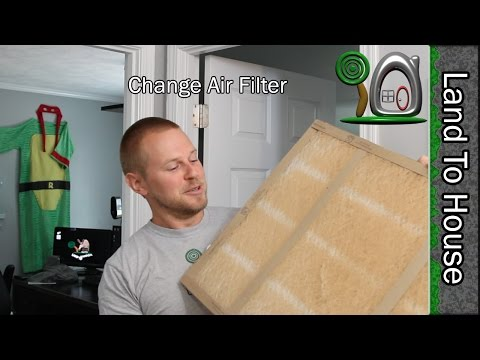 Changing the House Air Filter
