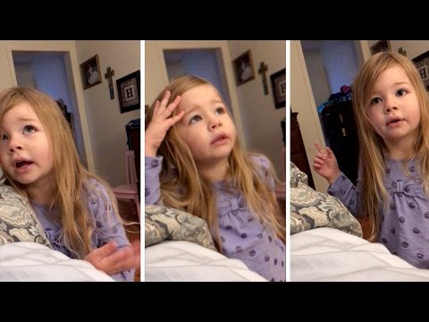 Daughter Scolds Dad About Toilet Seat