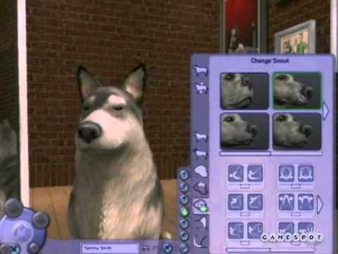 The Sims 2 Pets (PC) Create a Dog