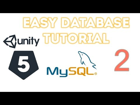 Unity 5 - Easy Database 2 (Creating our PHP File )