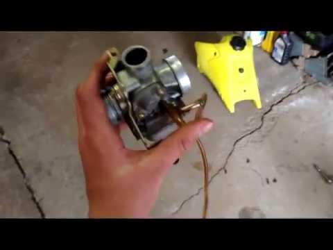 How To Take A Carburetor Off a Dirt Bike