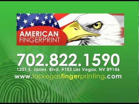 Las Vegas Fingerprinting   Fingerprints
