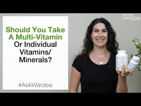 Should You Take A Multi Vitamin or Individual Vitamins/Minerals? | #AskWardee 092
