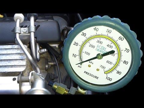 Fuel Pressure Test