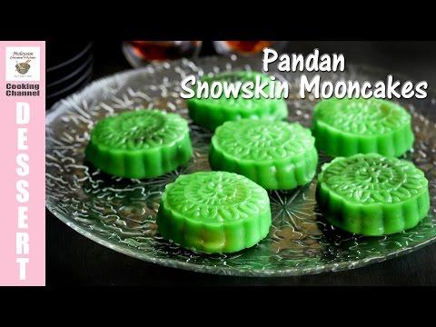 Pandan Snowskin Mooncakes | Malaysian Chinese Kitchen