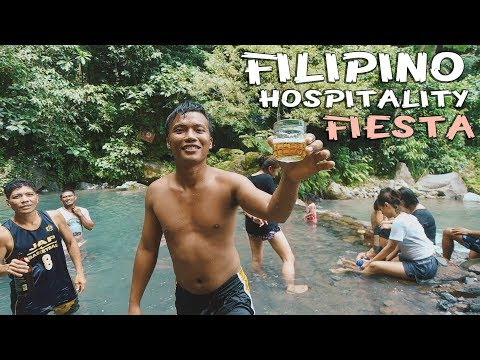 CAMIGUIN ISLAND FIESTA and a Tourist - Philippines