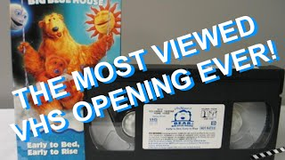 Opening to Bear in the Big Blue House: Early to bed, Early to rise VHS