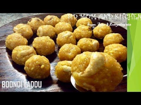 Laddu Recipe in Tamil / Boondi Laddu Recipe in Tamil / Diwali Special