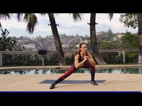 Butt Lift Workout -- Butt Lift Exercises - Buttocks Workout - Bodyweight No Equipment