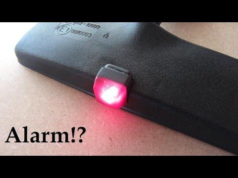DIY Fake Car Alarm Mirror 🚨