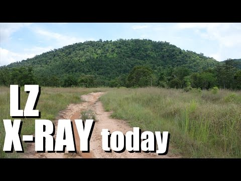 Vietnam War battlefields: IA DRANG Valley LZ X Ray TODAY