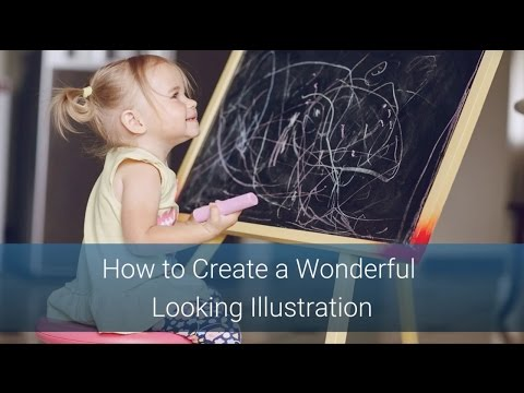 Create a Wonderful Illustration for Your Book, Blog or Social Media Channel (Even If You can't Draw)