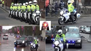Special Escort Group Compilation - President Obama in London