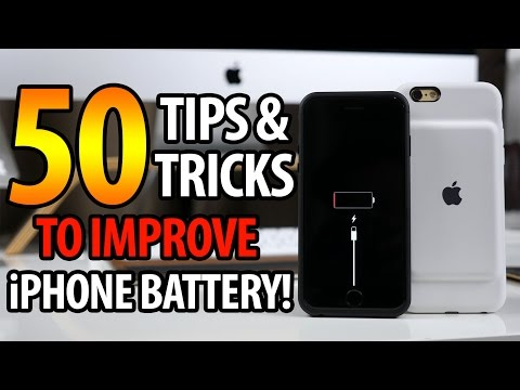 How to Improve iPhone Battery Life on iOS 11! 50+ Tips & Tricks!