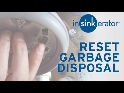 How To: Reset InSinkErator Garbage Disposal