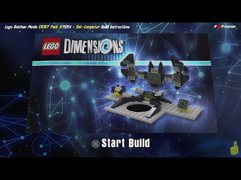 Lego Dimensions: Bat-Computer / Build Instructions (Lego Batman Movie STORY Pack #71264) - HTG