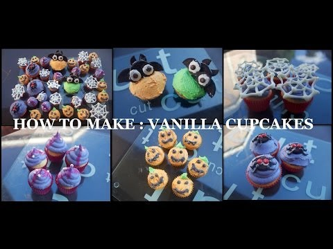 HOW TO MAKE : VANILLA CUPCAKES (FROM SCRATCH)