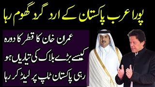 Imran Khan Visits Qatar and Welcomed With Red Carpet