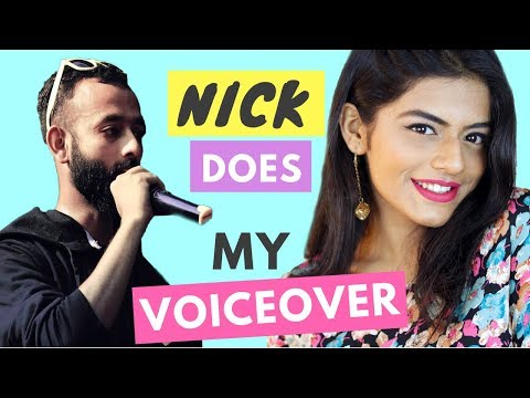 BEYOUNICK DOES MY VOICEOVER!!!