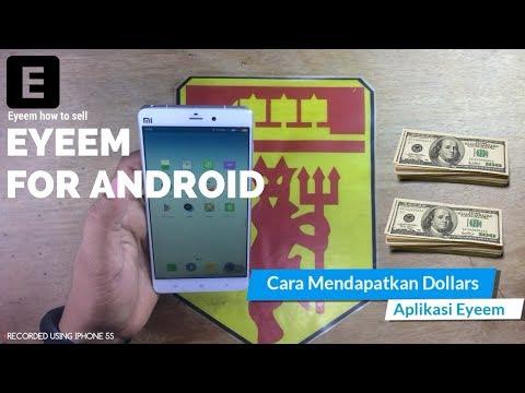 Cara Mendapatkan DOLLARS dari Aplikasi Eyeem | How To Sell Photo