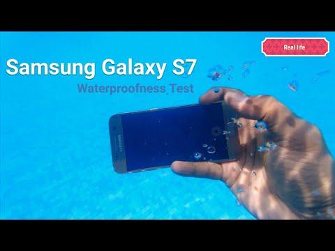 Galaxy S7 (Real life) Waterproofness Test
