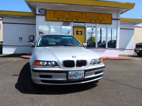 BMW loaner cars at Fresh Start Detail Co.