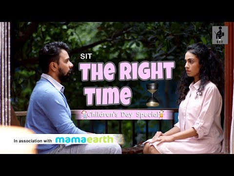 SIT | THE RIGHT TIME | Children's Day | MANASI PAREKH | NAMIT DAS | SHORT FILM