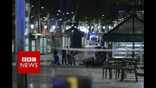 Barcelona: 13 killed as van rams crowds in Las Ramblas - BBC News