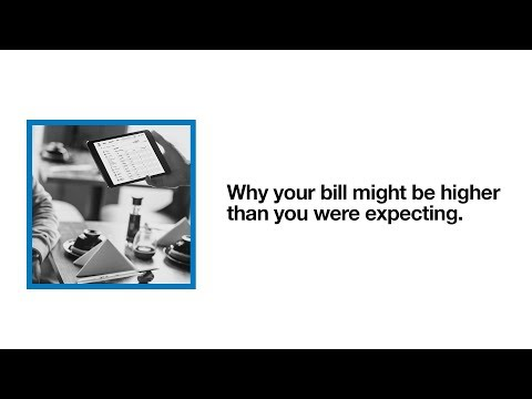 Why is my bill higher than expected? | Your phone bill (Explained) | Support on Three (2018)