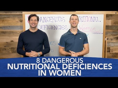 8 Dangerous Nutritional Deficiencies in Women