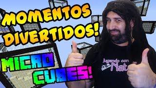 MOMENTOS DIVERTIDOS - Micro Cubes | #ViernesDeMinecraft