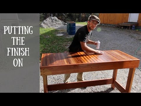 The Final Steps to Building our Butcher Block Workbench