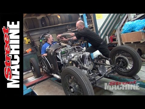 Knucklehead Powered Cyclecar On The Dyno