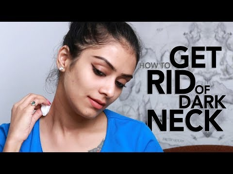 How To Get Rid Of Dark Neck | Fast & Easy DIY | Home Remedy | Foxy Makeup Tutorials