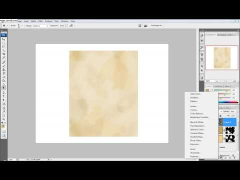 Photoshop Tutorial: Part 1 Make a western style wanted poster