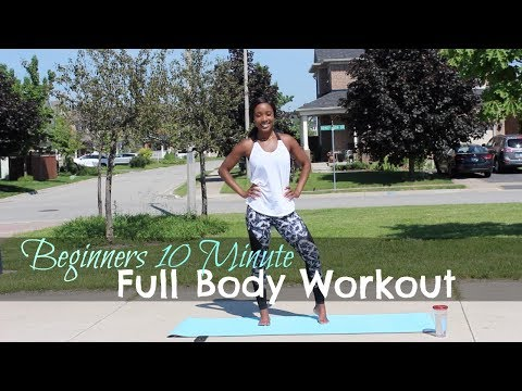 10 Minute At Home Full Body Workout for Beginners (No Equipment Needed)
