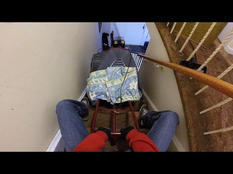 How to use a dolly to move a heavy TV