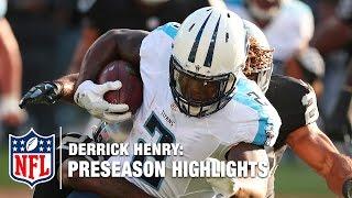 Derrick Henry Full 2016 Preseason Highlights Nfl