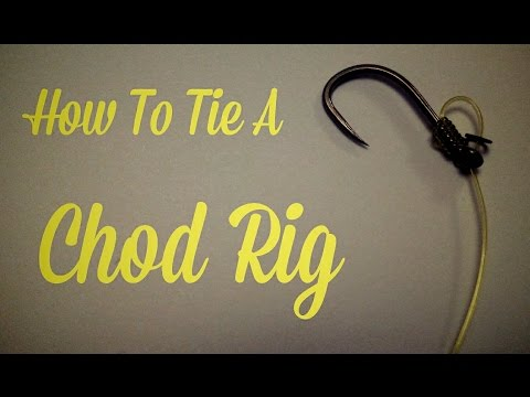 HOW TO TIE A CHOD RIG - CARP FISHING